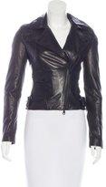 Karen Millen Leather Moto Jacket w/ Tags