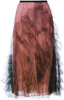 Valentino tulle pleated skirt - women - Silk/Spandex/Elastane - 44