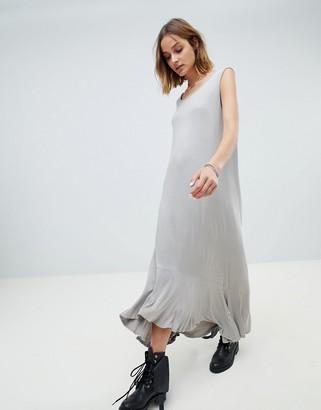 Nytt NYTT Swing Maxi Tank Dress-Gray
