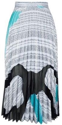 Thebe Magugu Satin and mesh duchesse skirt