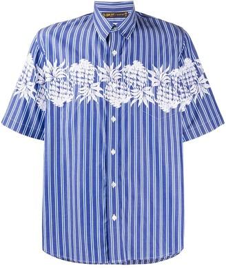Sacai x Sun Surf embroidered plant short-sleeved shirt
