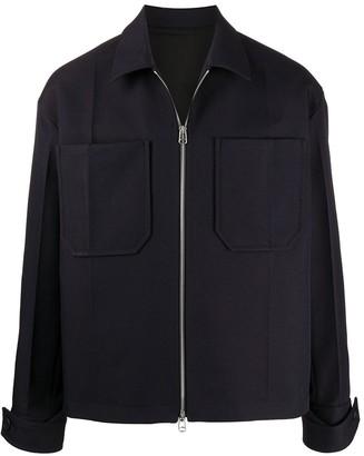 Oamc Zipped Shirt Jacket