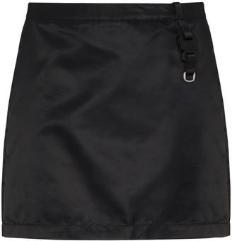 Alyx Buckle Strap Detail Mini Skirt