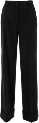 Dolce & Gabbana Cuffed Tailored Trousers