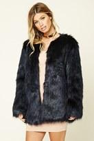 Forever 21 FOREVER 21+ Faux Fur Jacket