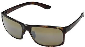 Maui Jim Pokowai Arch (Olive Tortoise/HCL Bronze) Athletic Performance Sport Sunglasses