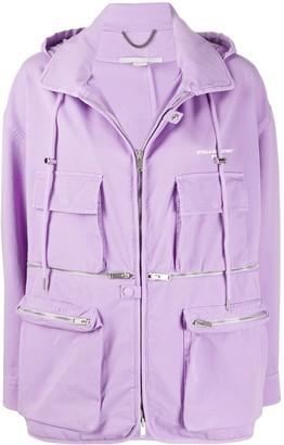 Stella McCartney Hooded Combat Jacket