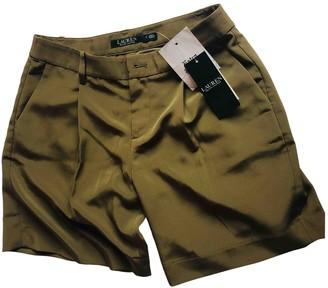 Ralph Lauren Khaki Shorts for Women