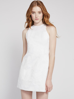 Alice + Olivia Coralia Open Back Mini Dress