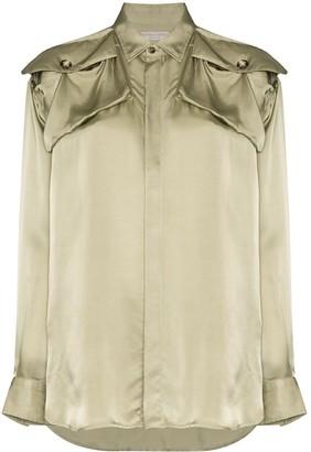 Bottega Veneta Shoulder Patch Shirt