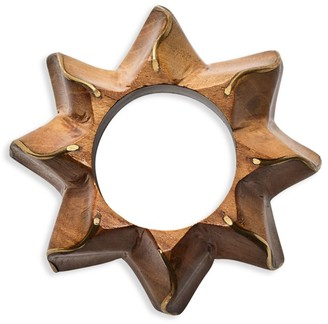 Kim Seybert Twist Wooden Napkin Ring
