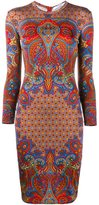 Givenchy paisley print dress - women - Silk/Spandex/Elastane/Acetate/Viscose - 38