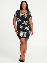 Old Navy Plus-Size Scoop-Neck Bodycon Dress