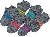 adidas Girls 6 Pair No Show Socks-Big Kid