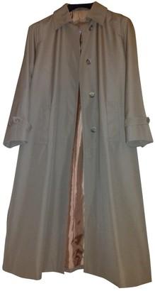 Aquascutum London Khaki Coat for Women