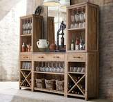 Pottery Barn Bar Console with Towers