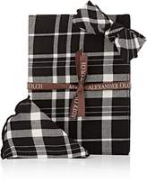 Alexander Olch MEN'S WINDOW PLAID SET