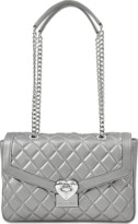 Love Moschino Heart Quilted flap bag