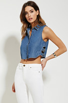 Forever 21 Contemporary Denim Shirt