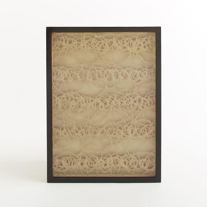 west elm Handmade Paper Wall Art - Beige
