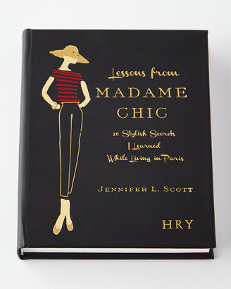 """Graphic Image Personalized """"Lessons From Madame Chic"""" Book by Jennifer L. Scott"""