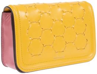 Mianqa Semiha Woven Belt Bag In Yellow