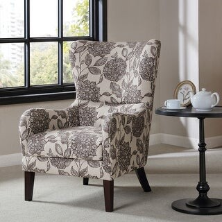 Madison Home USA Leda Swoop Wing Chair