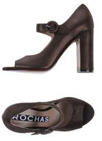 Rochas Pumps with open toe