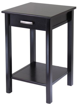 Winsome Wood Liso Printer Stand, Espresso Finish