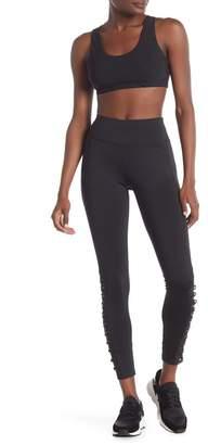 Material Girl Lace-Up Leggings
