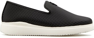 Giuseppe Zanotti Platform Micro Stud Loafers