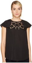 Kate Spade Lace Embroidered Top Women's Clothing