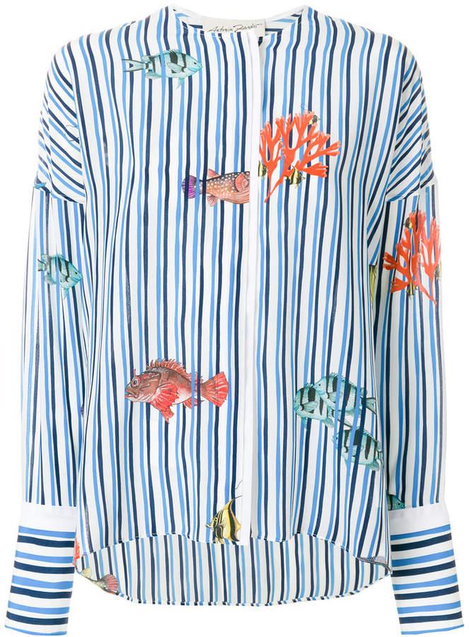 Antonia Zander striped sea shirt