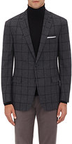 Ralph Lauren Purple Label Men's Nigel Wool-Cashmere Two-Button Sportcoat-GREY