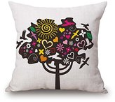 SherieHallborg Plant Pillow Covers Two Sides Ornament And Gift To Bf Outdoor Birthday Dance Room Office Husband