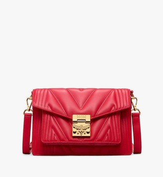 MCM Patricia Crossbody Bag in Quilted Leather