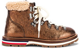 Moncler Blanche Scarpa Boot in Bronze | FWRD