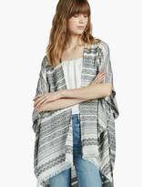 Lucky Brand Patterned Stripe Kimono