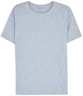 Derek Rose Ethan Light Blue Cotton T-shirt