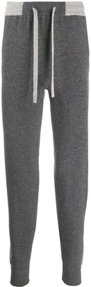 N.Peal Cashmere Knitted Track Pants