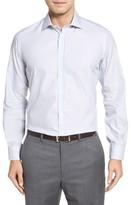 Luciano Barbera Men's Microcheck Sport Shirt