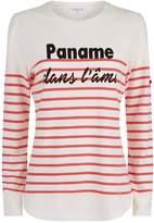 Claudie Pierlot Paname Slogan T-Shirt