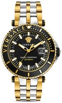 Versace Two-Tone V-Race Diver Watch, 46mm