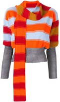 Bright Polychrome stripe jumper