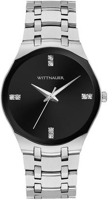 Wittnauer Women's Modern Stainless Diamond DialWatch