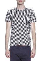 Marc Jacobs Check Printed Cotton T-shirt