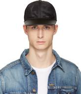 Valentino Black Nylon Camo Star Cap