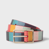 Paul Smith Women's 'Artist Stripe' Calf Leather Belt