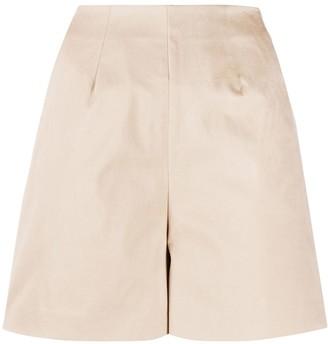 L'Autre Chose high-rise tailored shorts