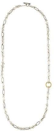 David Yurman Two-Tone Chain Necklace